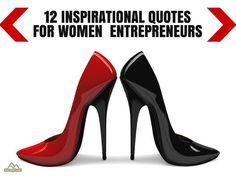 12 Inspirational Quotes For Women Entrepreneurs by SurveyCrest via slideshare: http://www.slideshare.net/SurveyCrest/12-inspirational-quotes-for-women-entrepreneurs