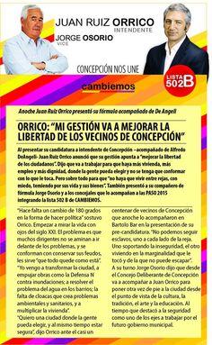 """cambiemos concepción del uruguay: Juan Ruiz Orrico: """"Mi gestión va a mejorar la libe..."""