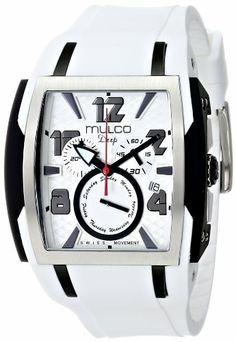 MULCO Unisex MW1-13186-015 Analog Display Swiss Quartz White Watch