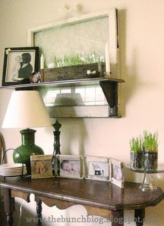 Wheat Grass used in Spring vignette!