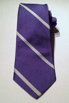 Mast-McBride   Lavender Silk Repp Stripe $75