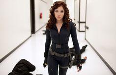 Scarlett in her badass mode