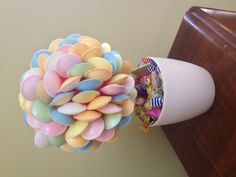Sweet Tree made with flying saucers