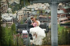 Colorado Chairlift Wedding!!
