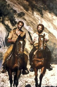 Bud Spencer e Terence Hill Retro Hits, Westerns, Terence Hill, For You Song, Star Wars, Vintage Clip, Old West, Bud, Actors & Actresses