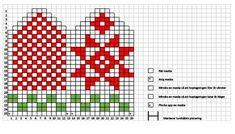 Kids Knitting Patterns, Knitting Charts, Knitting For Kids, Mitten Gloves, Fair Isle Chart, Knit Baby Dress, Baby Hats, Free Pattern, Mittens