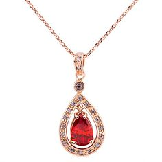 Bamoer May Big Promotion!! New Arrival 18 K Gold Ruby Zircon Water Drop Pendant Necklace for Girls Ladies Women Fashion Jewelry Decoration Bamoer http://www.amazon.com/dp/B00L4X1UY2/ref=cm_sw_r_pi_dp_LmBIvb1TP5W8Q