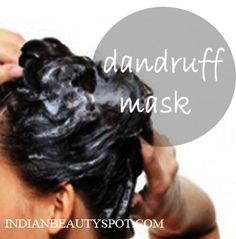 Natural hair mask that will bring moisture to your scalp work as well as combat dry scalp.