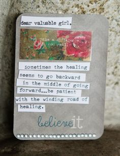 Aww I love it...my cousin sent me this pin in the midst of the turmoil I'm going through <3