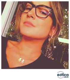 e5475b6f0 27 melhores imagens da pasta Óculos de Grau/ Glasses | Black, Blue e ...