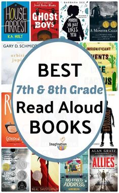 recommended read aloud books for middle school, and grades