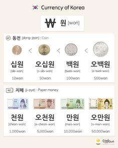 Learn Korean with Eggbun! Learn Korean with Eggbun! Korean Words Learning, Korean Language Learning, Learn A New Language, Learn Basic Korean, How To Speak Korean, Korean Slang, Korean Phrases, Learn Korean Alphabet, Korean Numbers