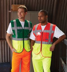 Yoko Hi-Vis Executive Waistcoat - Under £3.50