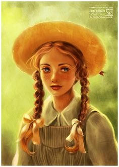Anne of Green Gables-My grandmother introduced me to Lucy Maude Montgomery's stories when I was a little girl-I've loved them ever since! Love, love, love Anne!