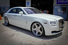 All the luxury, just slightly less class. Rolls-Royce Ghost