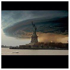 Hurricane Sandy - Amazing photo