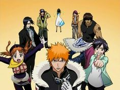 Bleach-the original gang!