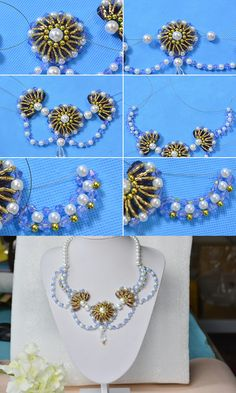 Fantastic beaded necklace, you can pay more attention on LC.Pandahall.com to learn the details.