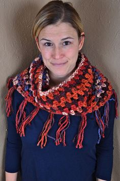 Cozy Cowl Hoodie by Crochet539 on Etsy
