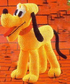 Ebook crochet amigurumi pluto PDF Pattern