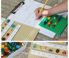 Here are two fun LEGO machines to build – a paper crimper and a circle drawing device! Challenge kids to build these designs or invent their own. This is a great project for a LEGO club! What other machines can you build to do something with paper? Maybe a folding machine? We found the paper …