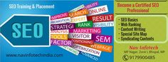 SEO Training in Bhopal - Complete on Page Optimization, off Page SEO, Link Building, Internet Marketing, SEO Effectiveness, Researching Keywords