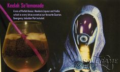 This calls for a Happy Hour with a Theme... Mass Effect Cocktails.