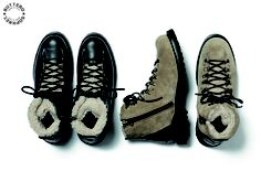 SOPHNET. BUTTERO HIKING BOOTS