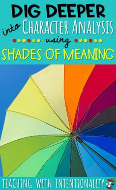 Need some teaching strategies and resources for teaching shades of meaning? Get some great lesson ideas and free resources for helping your students better understand characters through word nuances. Comprehension Strategies, Teaching Strategies, Reading Comprehension, Writing Strategies, Teaching Ideas, Emotional Books, Shades Of Meaning, Reading Anchor Charts, 4th Grade Reading