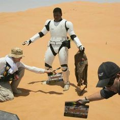 """""""Finn is in incredible danger and the way he decides to react to this danger changes his life and launches him into the 'Star Wars' universe in a very unique way,"""" John Boyega said."""