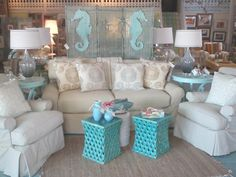 Key West Style Decorating | Some new pieces in the shop were just pulled together for a lovely ...