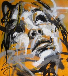 Truly amazed that he only uses spray cans.  I love how he has pushed this medium!  David Walker