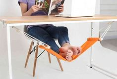 Now I need an under-the-desk foot hammock http://ift.tt/1oTgREw