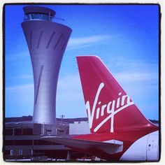 """""""Isn't the new tower sexy?"""" Photo taken by @virginamerica on Instagram, pinned via the InstaPin iOS App! http://www.instapinapp.com (04/15/2015)"""
