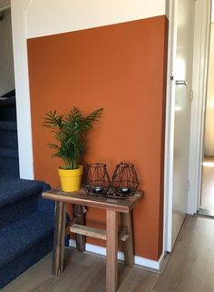 Room Colors, Wall Colors, Home Bedroom, Bedroom Wall, Two Tone Walls, Attic Rooms, Diy Wall Art, Interior Inspiration, Sweet Home