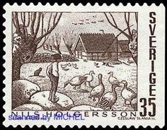 Nils-Holgersson-Slania-Briefmarke