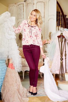 Lauren Conrad in an LC Lauren Conrad for Kohl's Collection Outfit
