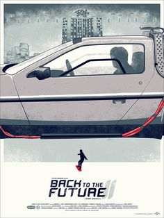 Back To The Future Trilogy Prints by Phantom City Creative > Design und so, Illustrationen > bttf, michael j fox, posters, prints