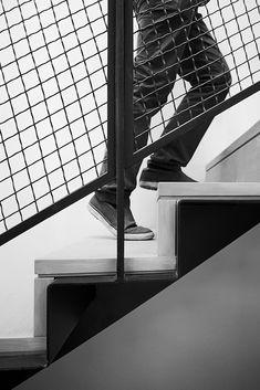 Metal stair detail