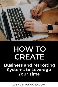 How to Create Business & Marketing Systems to Get More Time and Freedom Small Business Marketing, Sales And Marketing, Online Marketing, Etsy Business, Online Business, Business Planning, Business Tips, How To Get Clients, Making Machine