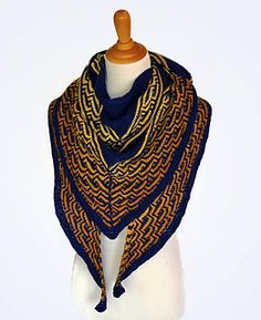 Ravelry: Sacagawea pattern by Kay Hopkins Knitting Designs, Knitting Patterns, Scarf Patterns, Knitting Projects, Stitch Patterns, Chevron Scarves, Creative Knitting, Cowl Scarf, Knitted Shawls