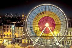 #Cork's Eye. The #GlowCork Ferris Wheel. Taken from tweet by @RoryCoomeyPhoto