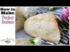 This is the perfect scone recipe, showing you how to make the very best scones! Tender, flaky, buttery, this recipe is always a winner! Perfect Scones Recipe, Best Scone Recipe, Baking Recipes, Dessert Recipes, Desserts, Scone Recipes, How To Make Scones, Biscuit Bread, Deserts