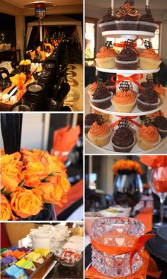 Black & Orange Party Decorations