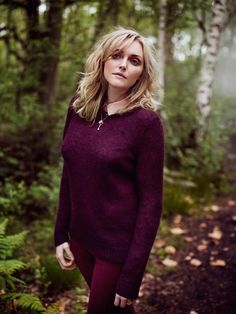 Sophie Dahl Enters the Wilderness for Aubin & Wills F/W 2012 Campaign by Annemarieke van Drimmelen