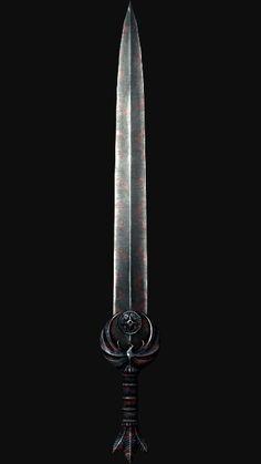 Really a good sword it absorb s health & stamina Skyrim Swords, Skyrim Nightingale, Bison Tattoo, Dungeon Master's Guide, Elder Scrolls Skyrim, Sword Design, Scroll Design, Knives And Swords, Knifes