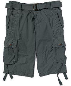 Men Cargo Shorts With Belt CW140065   Cargo short and Men's fashion