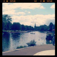 Stratford-upon-Avon in Warwickshire, Warwickshire