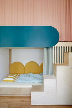 Jäll & Tofta Bunk Rooms, Bunk Beds, Room Interior, Home Interior Design, Shared Boys Rooms, Kids Room Design, Kid Spaces, Small Rooms, Cozy House
