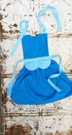 Princess CINDERELLA Sewing PATTERN. Disney inspired Child Costume Apron. Dress up. Play. Photo shoot prop. Fits 2t, 3t, 4, 5, 6, 7, 8. Girls...